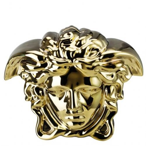 VERSACE  BREAK THE BANK MONEY BOX GOLD